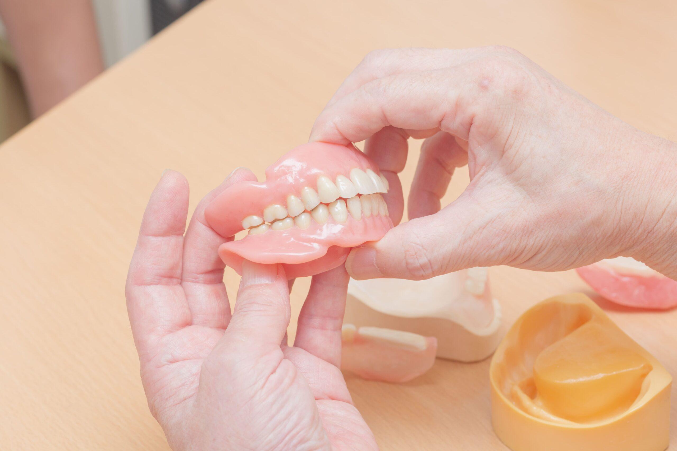 リハビリ入れ歯の作製